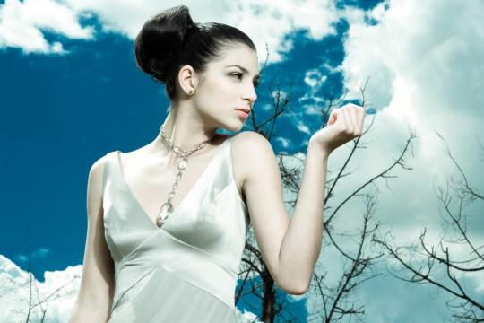 Campaña Zarina. Modelo Angelica Duque