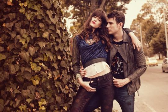 Foto pareja cool en Colombia